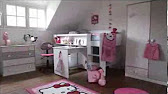 VISITE VIRTUELLE 3D CHAMBRE FILLE - YouTube on