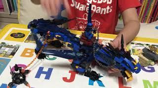 레고 닌자고 70652 블루드래곤 스톰브링거 플레이