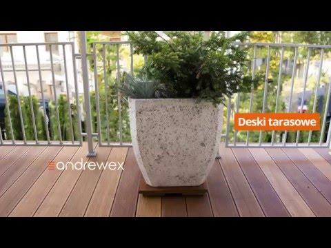 Deski Tarasowe Panele Tarasowe Drewniane I Kompozytowe