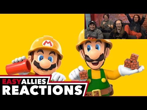Super Mario Maker 2 - Easy Allies Reactions