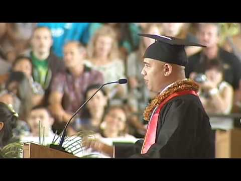 University of Hawaii at Hilo Spring 2010 Student Commencement Speech