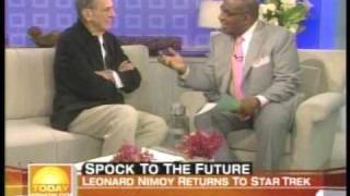 leonard nimoy on the today show talking about the new star trek movie 5 7 09