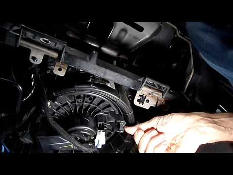 How To Replace A C Blower Motor On 09 10 11 12