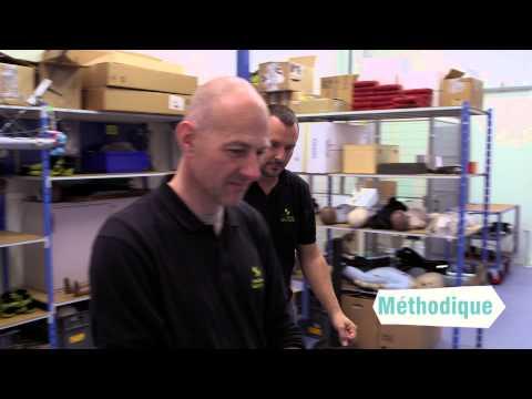 Vidéo de responsable de laboratoire de contrôle en chimie