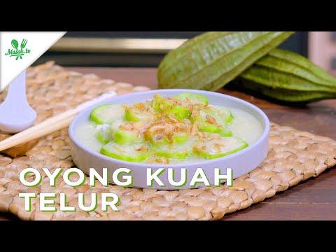 MASAKAN ENAK, MURAH, GAMPANG!! | Oyong Kuah Telur