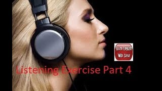 Listening to And Improve English While Sleeping - Listening Exercise Part 4