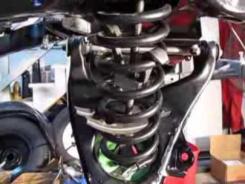 C3 Corvette Spring Compress Part 1 Of 2 Youtube