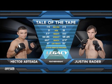 Fight of the Week: BJJ Champ Justin Rader Goes to Work at Legacy 35