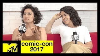 Abbi Jacobson & Ilana Glazer on Rewriting 'Broad City' Season 4 | Comic-Con 2017 | MTV