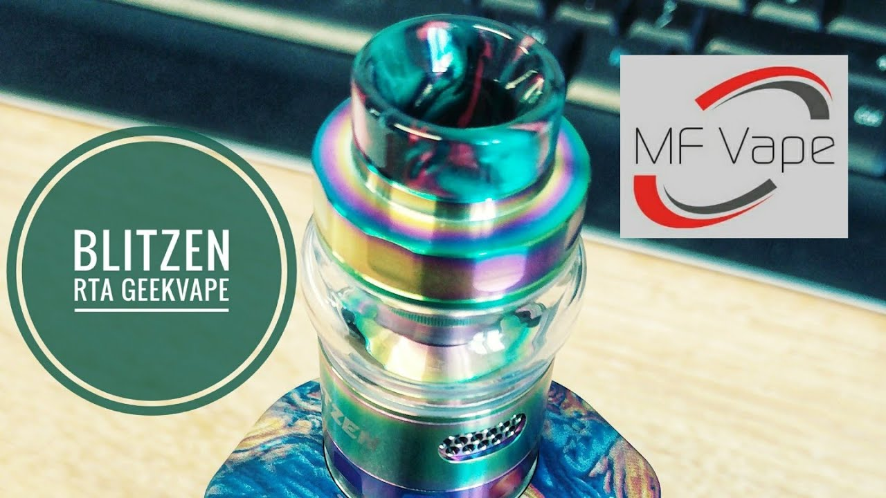 Geekvape Blitzen Rta Clouds And Flavour Review Build Wicking