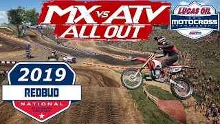 MX vs ATV ALL OUT - RED BUD - AMA Pro Motocross Championship DLC (First Look) Video