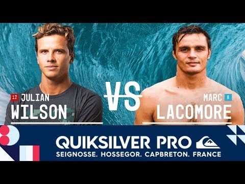 Julian Wilson vs. Marc Lacomare - Round Two, Heat 1 - Quiksilver Pro France 2017