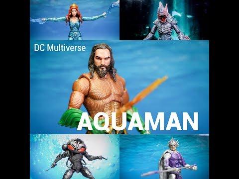 รีวิว DC Multiverse Aquaman Movie