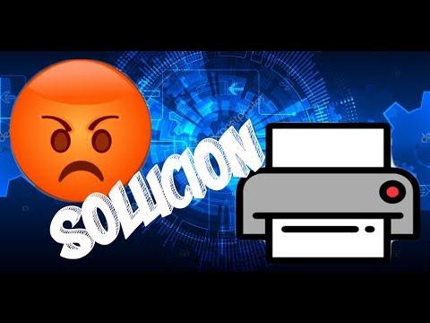 Solución Impresora solo imprime imágenes y no texto