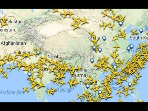 Why don't planes fly over Tibet?