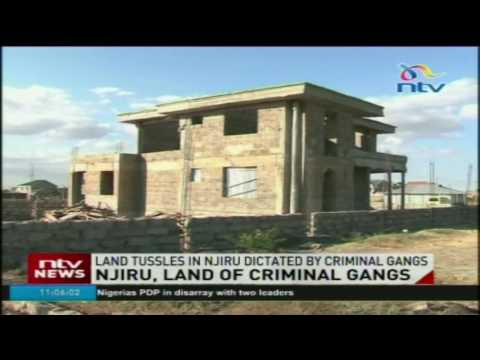 Cases of insecurity on the rise in Njiru over land tussles