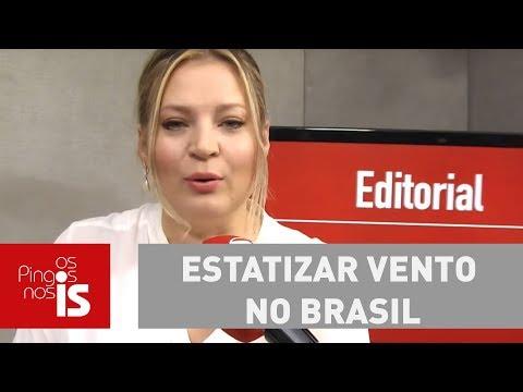 Joice - Piada: Deputado Propõe Estatizar Vento No Brasil