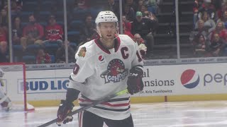 Leadership role working out well for Versteeg with the IceHogs