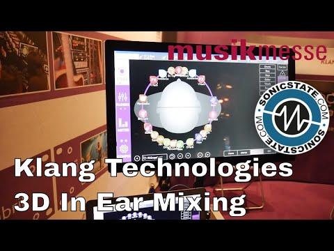 MESSE 2018: Klang Technologies 3D In-Ear Mixing