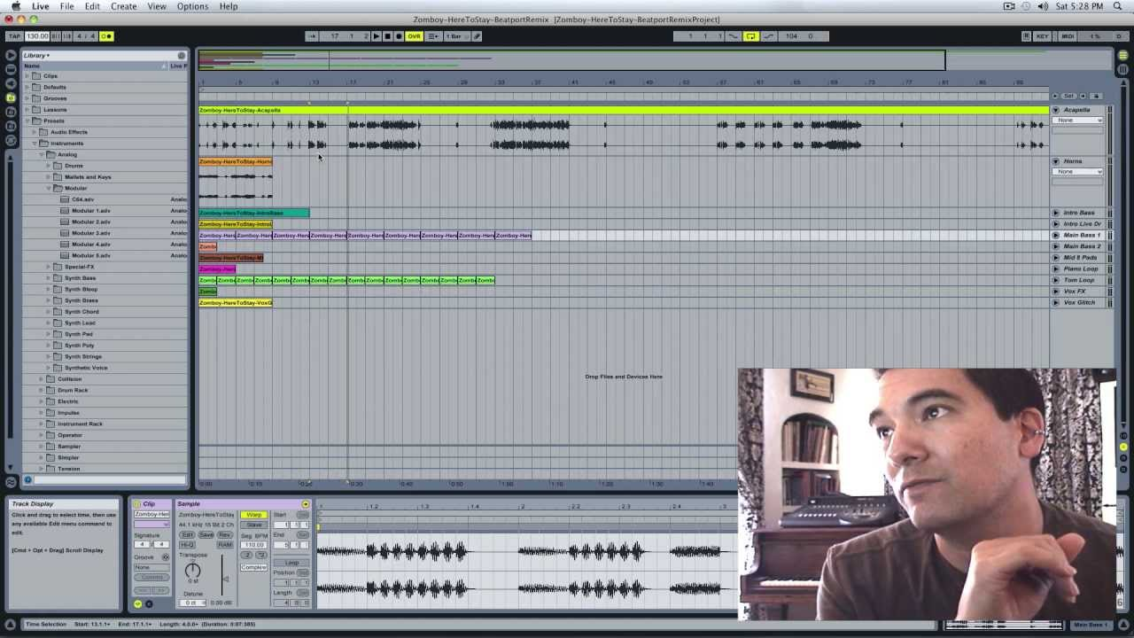 Opening Beatport's Remix Packs in Ableton Live