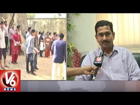 Face To Face With School Education Commissioner Kishan Over SSC Exams | V6 News