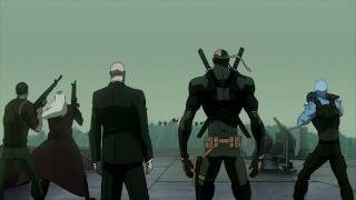 Deathstroke and Lex Luthor vs. Aquaman!