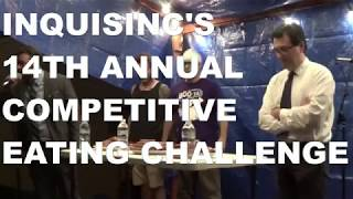 Inquisinc's 14th Annual Competitive Eating Challenge -Jacob Lenhoff Tours Hamilton, Ohio