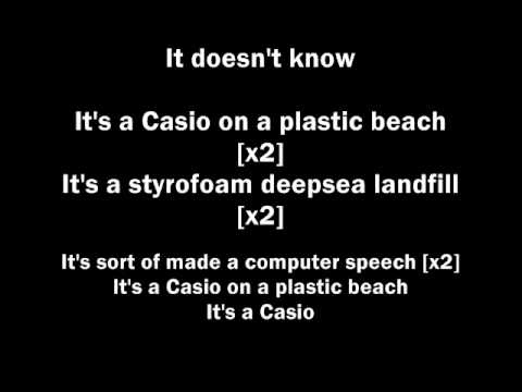 Gorillaz - Plastic Beach(lyrics)