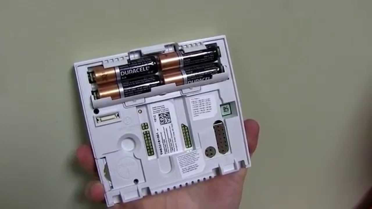 How To Change The Batteries In Your Thermostat  YouTube