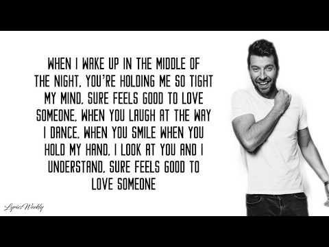 Brett Eldredge Love Someone Lyrics Youtube