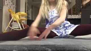 Видео- урок, как сесть на шпагат?