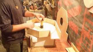 Вытяжка своими руками Building a dust collector blower
