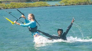 Our Addiction to Kiteboarding Begins!!  Sailing Vessel Delos Ep. 217