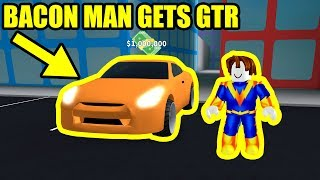 BACON HAIR gets NISSAN GTR | Roblox Mad City Update