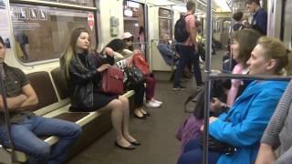 【ロシア】モスクワの地下鉄(メトロ)に乗車してみた