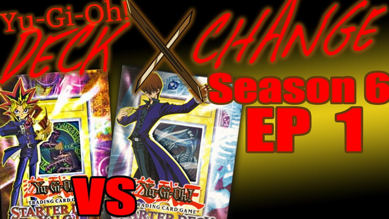 yugi starter deck vs kaiba starter deck yugioh deck exchange