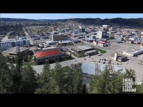 Downtown Prince George, BC