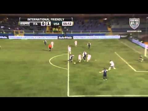 Italy - USA 0-1 Highlights & Goals 29-2-2012