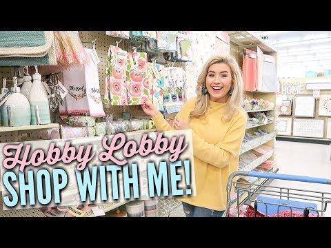 🐣🌷Spring & Summer HOBBY LOBBY Shop With Me 2019 | Easter Shopping Vlog | Love Meg