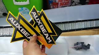 "Auxbeam 52"" Quad Row Curved Led Light Bar"