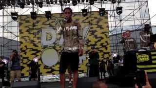 Travis Scott 'Upper Echelon' LIVE! Fools Gold Day Off 2013!