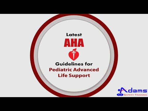 Latest AHA Guidelines for Pediatric Advanced Life Support