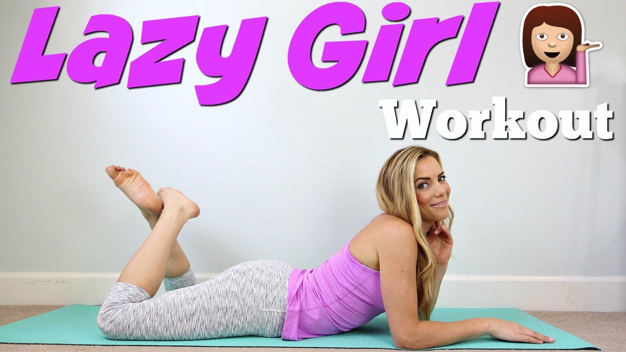 LAZY GIRL Workout | Full Body Burn