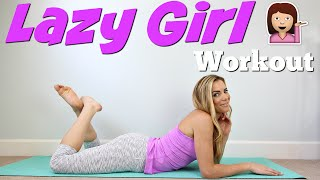 LAZY GIRL Workout | Full Body Burn