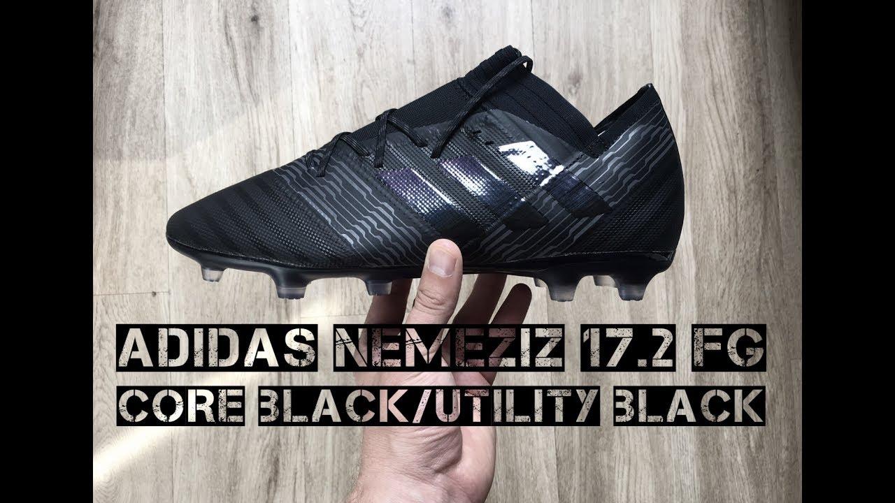 Adidas Nemeziz 17.2 FG  Core Black Utility Black   a4cad2bfaaa6