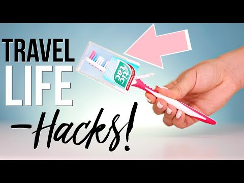 Travel Life Hacks | Ashley Nichole