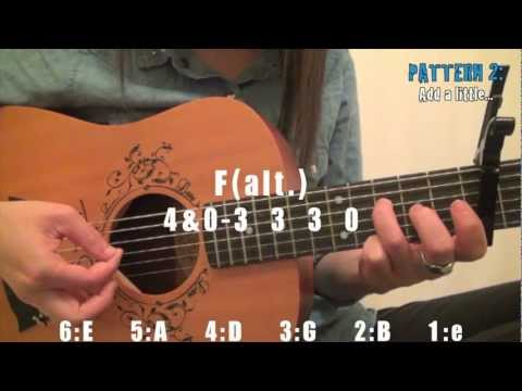 """Safe and Sound"" by Taylor Swift EASY Guitar Tutorial [Chords/Strumming/Picking/Cover]"