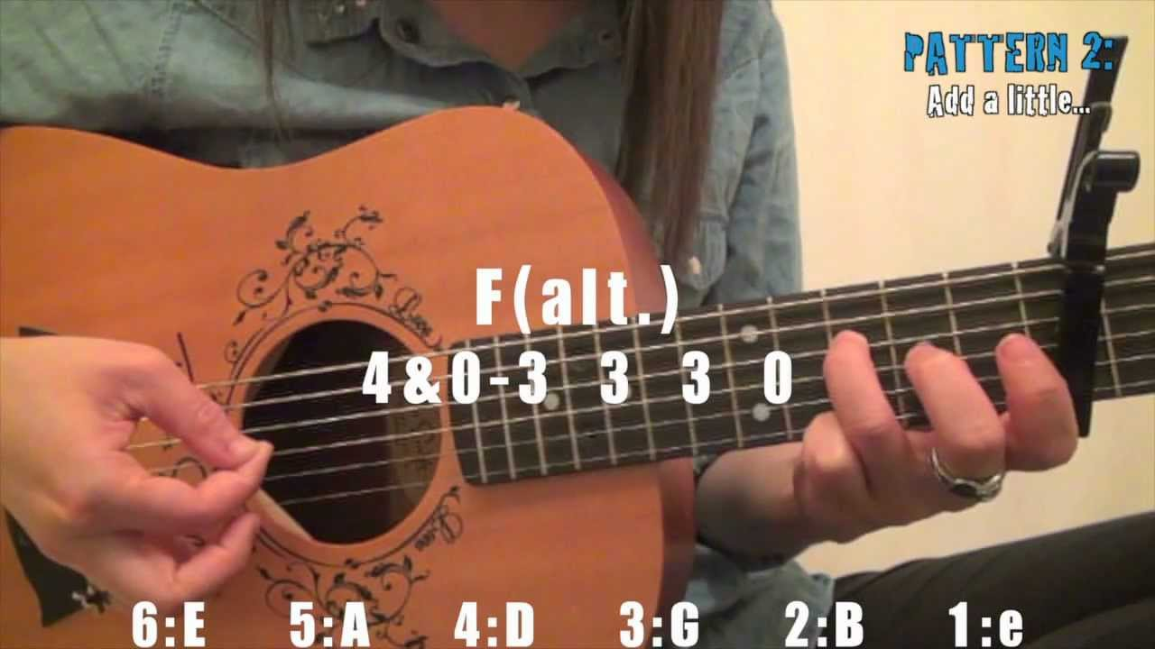 Safe And Sound By Taylor Swift Easy Guitar Tutorial Chords