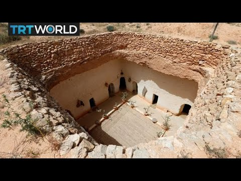 Libya Pithouses: People keep housing traditions alive