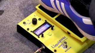 Musikmesse 2012: Mooer Audio Liquidiver (Whammy-style)